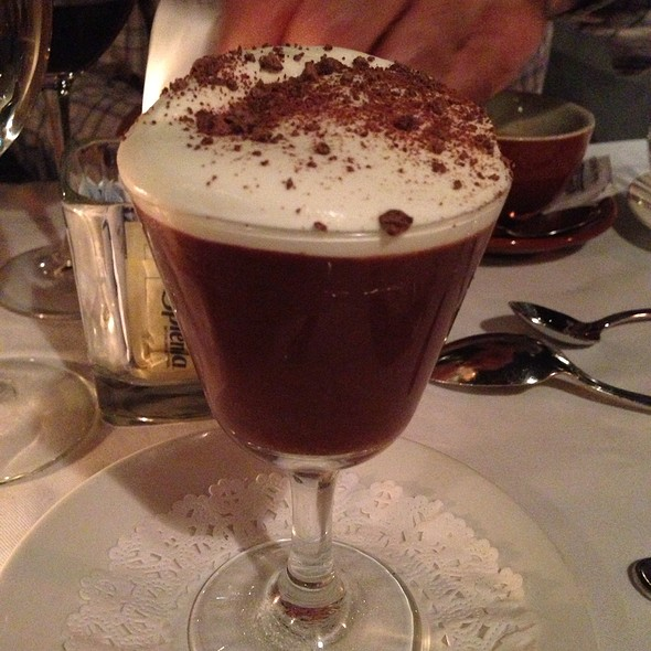 Dark Chocolate Mousse - Keen's Steakhouse, New York, NY