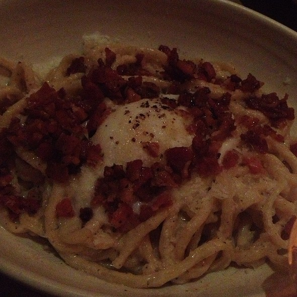 Spaghetti Carbonara - Osteria La Buca, West Hollywood, CA