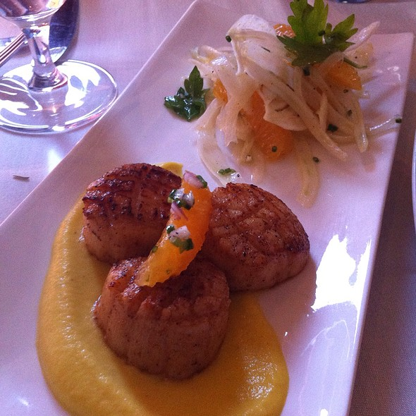 Scallops On Golden Beet Puree - Paradiso - Philadelphia, Philadelphia, PA
