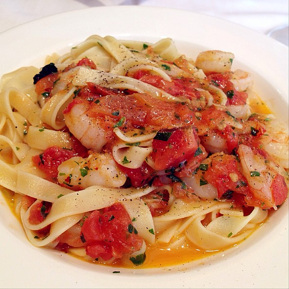 Tagliatelle Gamberi - Toscano Restaurant, Boston, MA