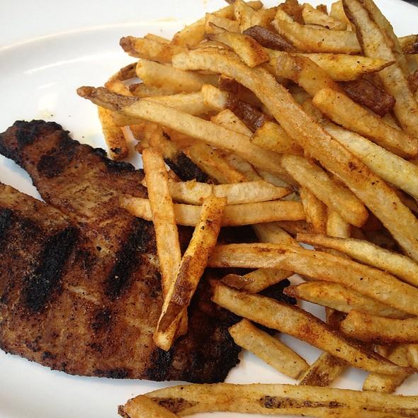 Cajun Grilled Redfish Sandwich - Jasper's - The Woodlands, The Woodlands, TX