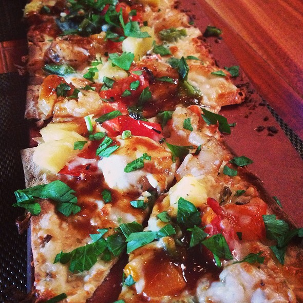 Chipotle Shrimp Flatbread - Seasons 52 - Boca Raton, Boca Raton, FL
