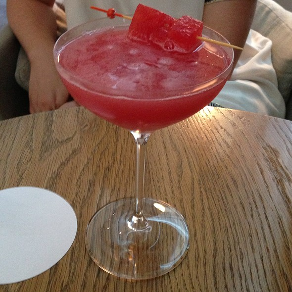 Watermelon Margarita - dbar, Toronto, ON