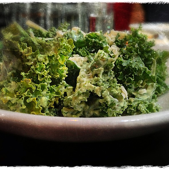 Kale Salad - Sparrow Bar + Cookshop, Houston, TX