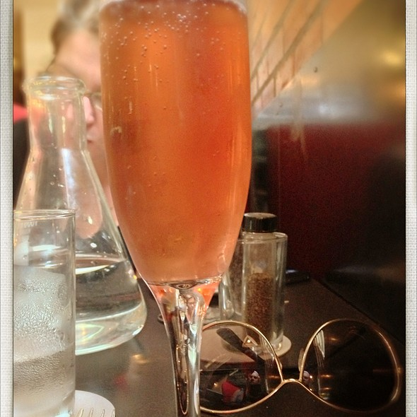 Sparkling Rose - Sparrow Bar + Cookshop, Houston, TX