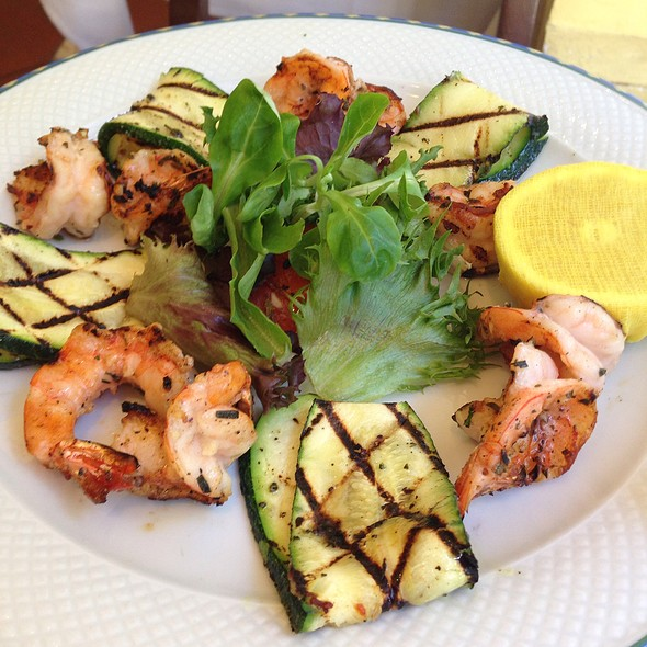 Grilled Shrimp And Zucchini - Mezzogiorno, New York, NY