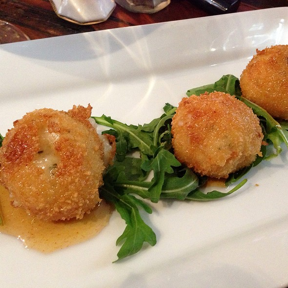 goat cheese croquettes - Fraunces Tavern, New York, NY