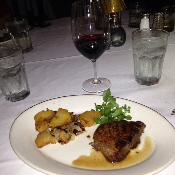 Single Cut Filet Mignon - Morton's The Steakhouse - North Miami Beach, North Miami Beach, FL
