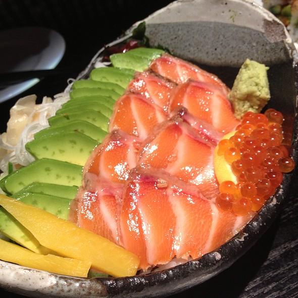 Salmon Avocado Donburi - Sushi Yasaka, New York, NY