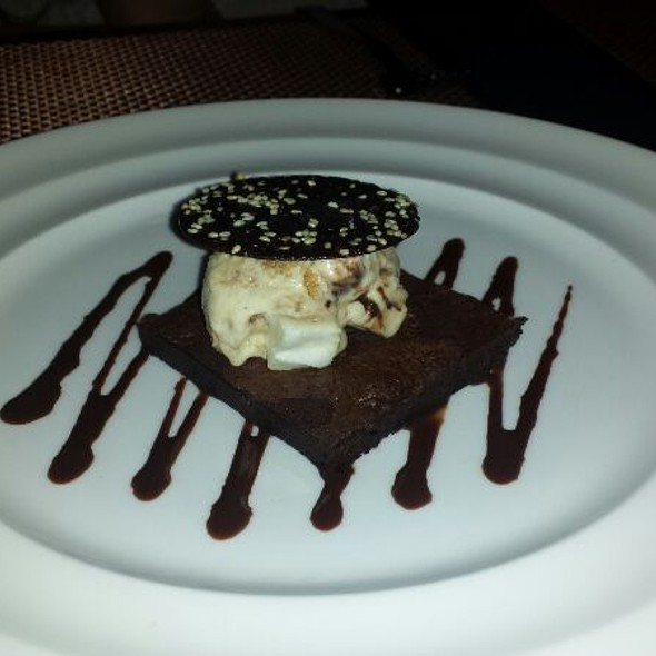 Brownie a la mode - Westend Bistro DC, Washington, DC