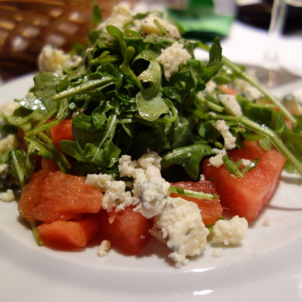 Watermelon Gorgonzola Salad - Grissini, Englewood Cliffs, NJ