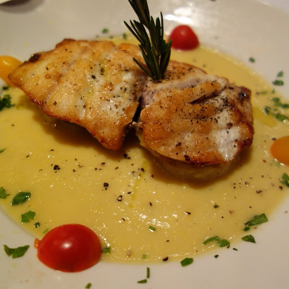 Pan Seared Red Snapper - Grissini, Englewood Cliffs, NJ