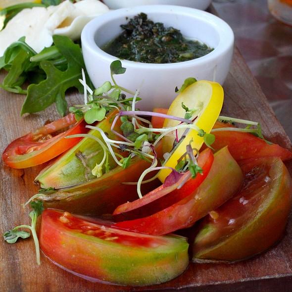 Heirloom Tomato board - The Daily Planet, Burlington, VT
