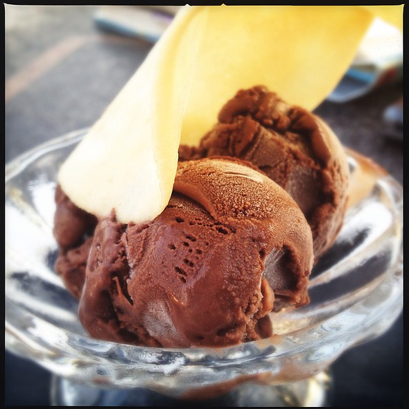 Chocolate Gelato - Louis, Saint Paul, MN