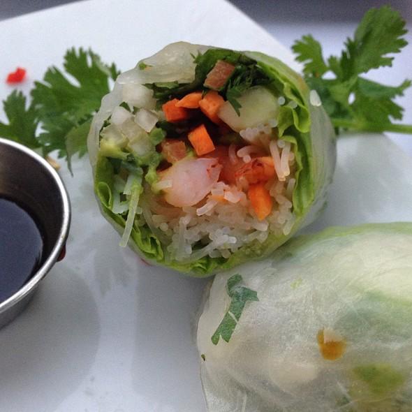 Shrimp  And Avocado Springrolls - Novo Restaurant, San Luis Obispo, CA