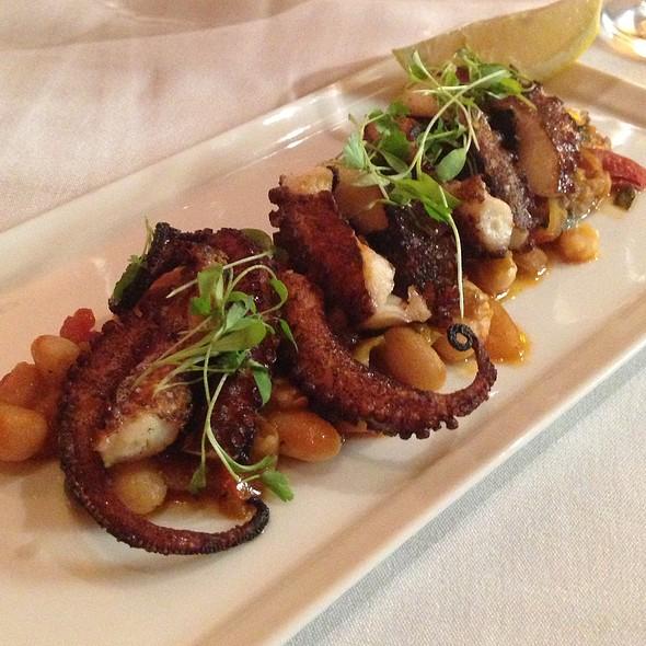 Grilled Octopus - Il Cortile Ristorante, Paso Robles, CA