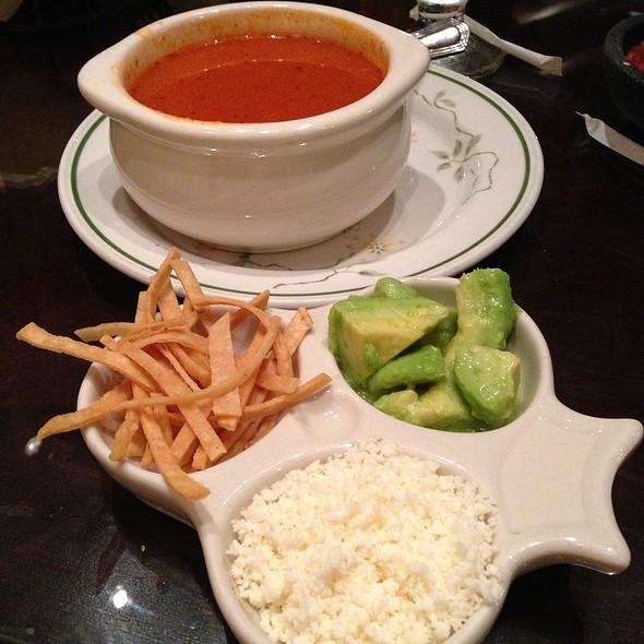 Tortilla Soup with Chicken and Avocado - Las Campanas, Riverside, CA