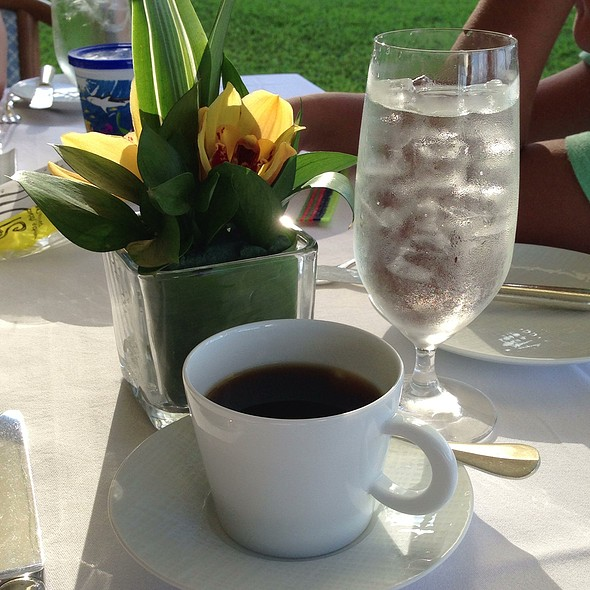 Coffee & Water - Orchids at Halekulani, Honolulu, HI