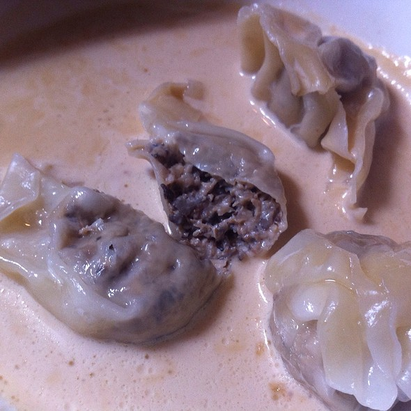 Shiitake Mushroom Dumplings - Sparrow Bar + Cookshop, Houston, TX