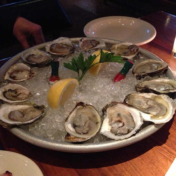 Oysters - Harry's Cafe and Steak, New York, NY