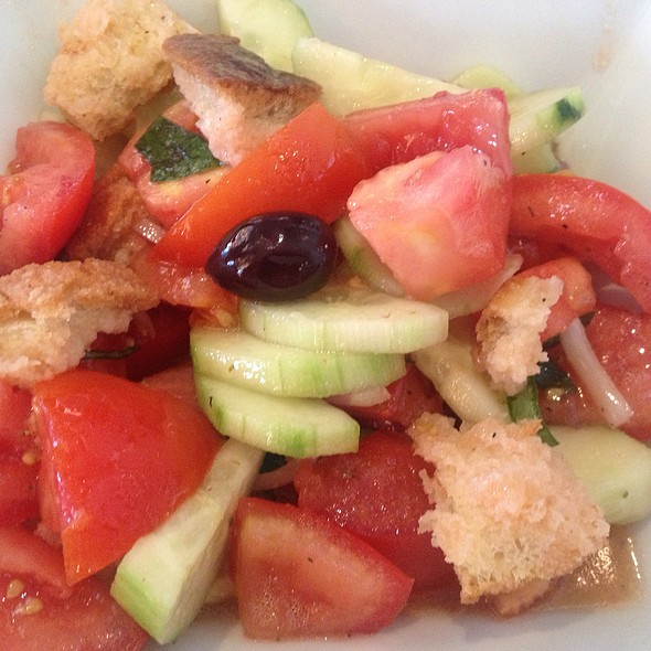 Panzanella Salad - Il Pastaio, Beverly Hills, CA