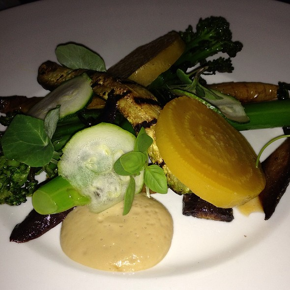 Warm Vegetable Salad - a(MUSE.), Rehoboth Beach, DE