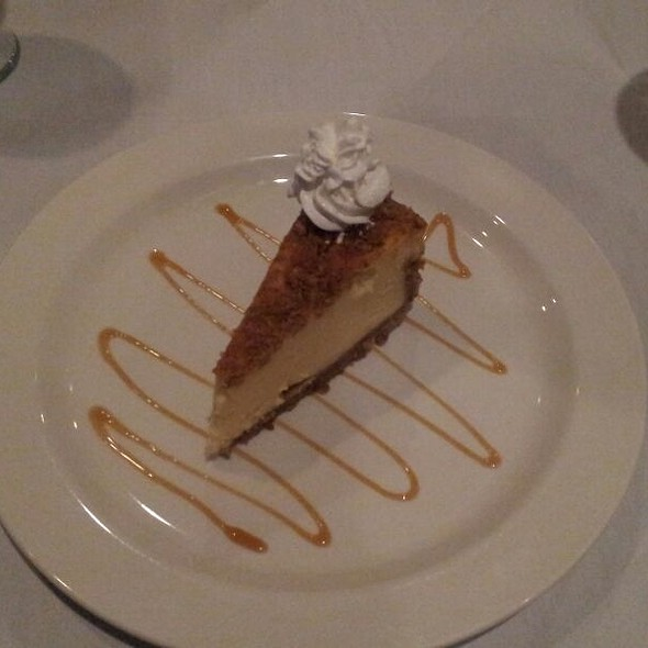 Ricotta Cheesecake - Vesuvio Bistro, Little Rock, AR