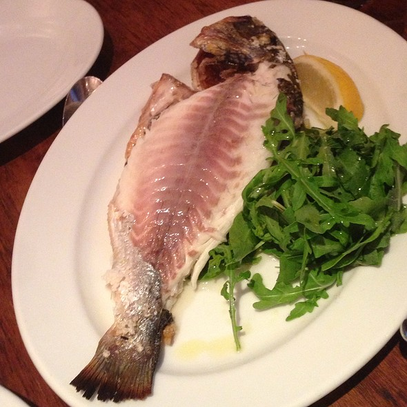 Sea bream - Bocca Di Lupo, London