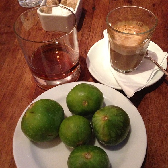Green Figs - Bocca Di Lupo, London