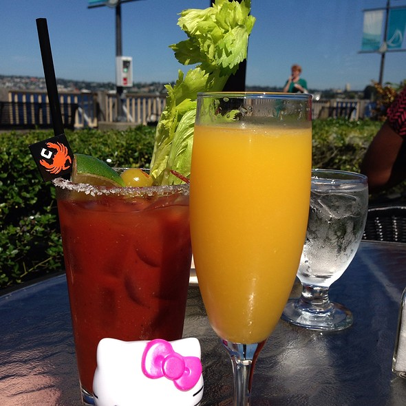 Bloody Mary And Mimosa - Chandler's Crabhouse, Seattle, WA