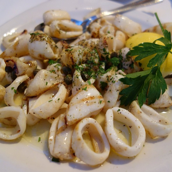 Grilled Calamari - Varka Fishhouse, Ramsey, NJ