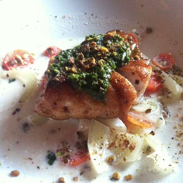 Seared Grouper - Rumours East, Nashville, TN