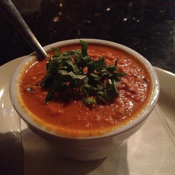 Tomato Basil Bisque - Corleone's Trattoria, Savannah, GA