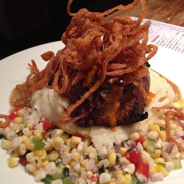 Southwestern Marinated Berkshire Pork Chop - SPAGIO Restaurant, Columbus, OH
