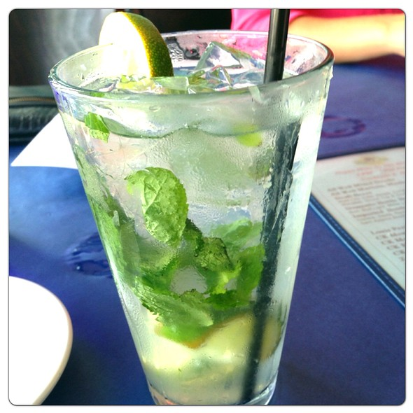 Mojito - The Blue Fish Restaurant, Jacksonville, FL