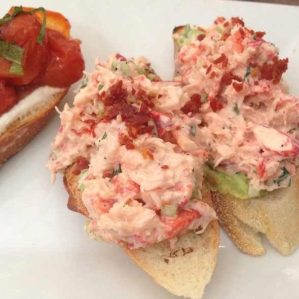 Lobster Bruschetta - Bin 14, Hoboken, NJ