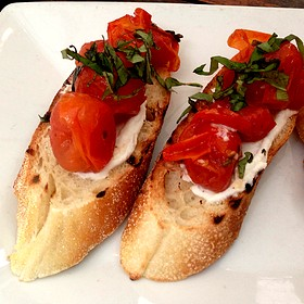 Bruschetta With Tomato And Basil - Bin 14, Hoboken, NJ