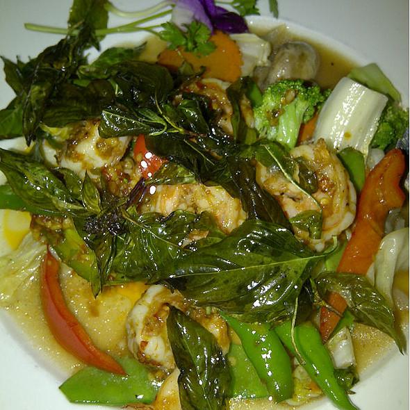 Basil Shrimp - Mali Restaurant, Atlanta, GA
