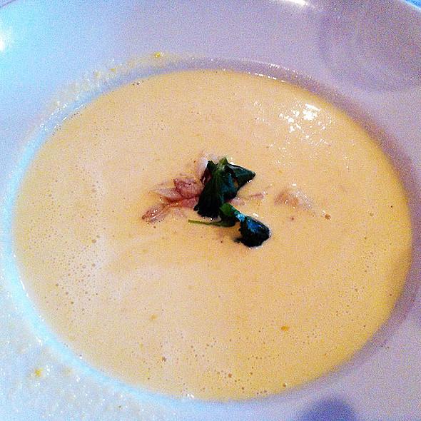 Chilled Corn Soup - Apolline, New Orleans, LA