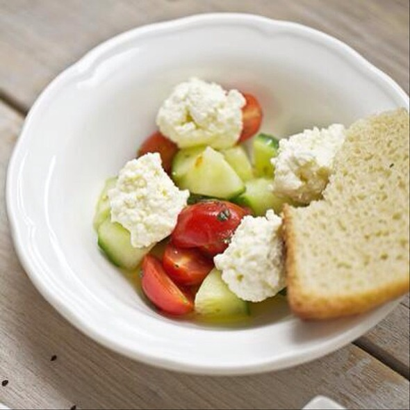 Tomato Salad - Restaurant Su, Verdun, QC