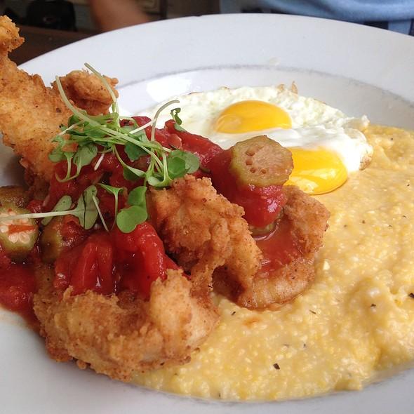 Fish And Grits - Poogan's Porch Restaurant, Charleston, SC