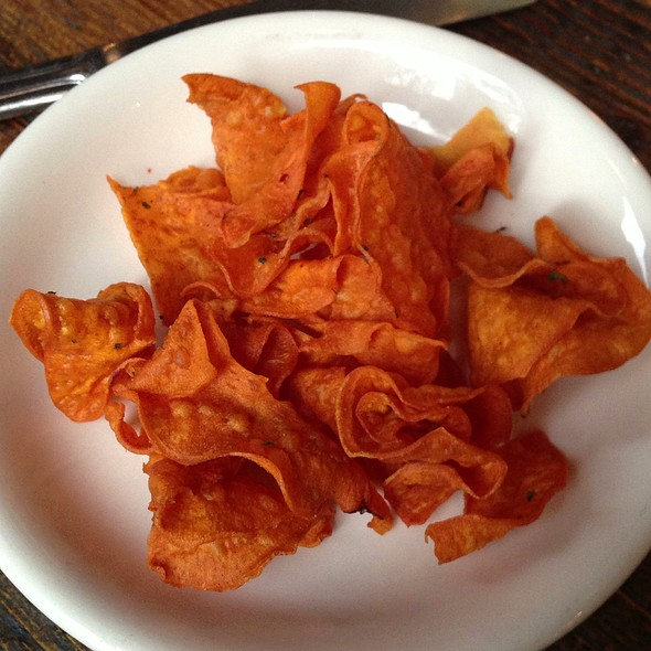 Crispy Yam Chips - Kitchen Story, San Francisco, CA