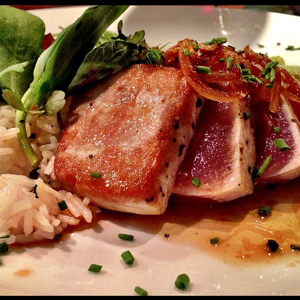 Seared Tuna - The Rail Stop, The Plains, VA