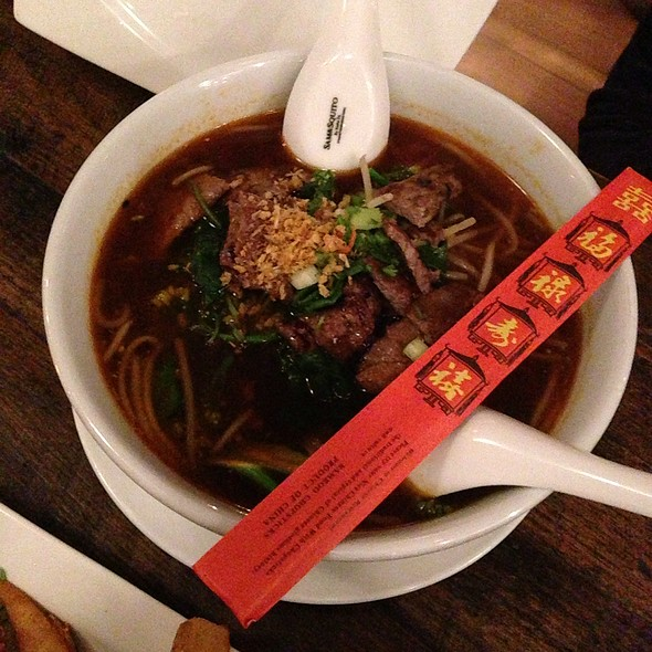 Grilled Wagyu Beef Noodle Soup - Kitchen Story, San Francisco, CA