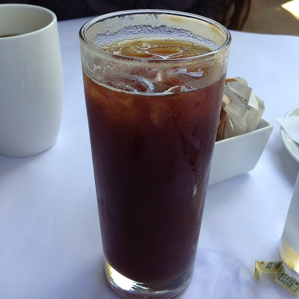 Iced Americano - VILLAGE California Bistro & Wine Bar, San Jose, CA