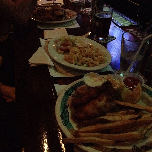 Fish and Chips & Calamari - Slattery's Mid Town Pub, New York, NY