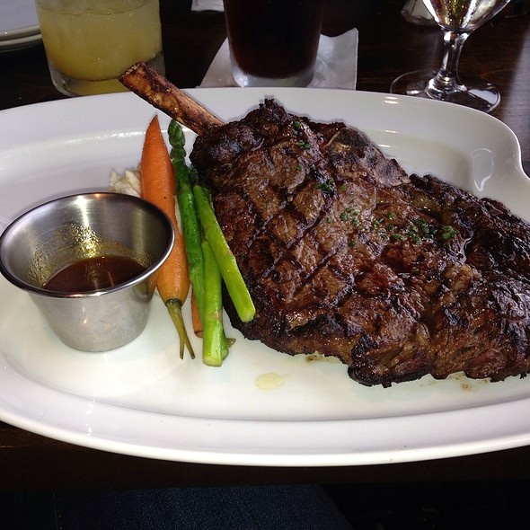 Ribeye - The Boat Club Restaurant, Whitefish, MT