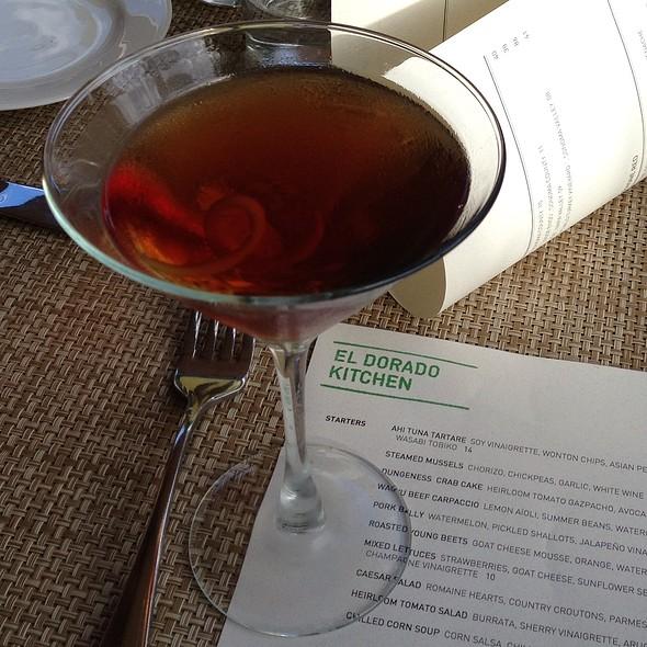 Greenpoint Cocktail - El Dorado Kitchen, Sonoma, CA