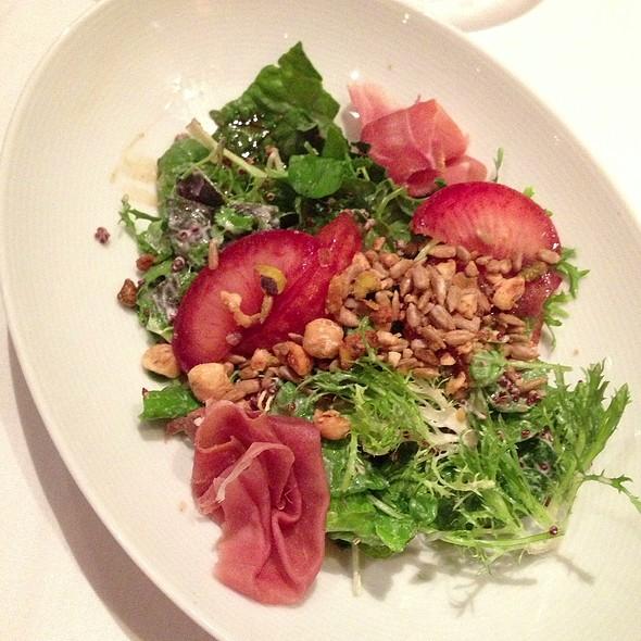 Plum Salad - The Restaurant at Wente Vineyards, Livermore, CA
