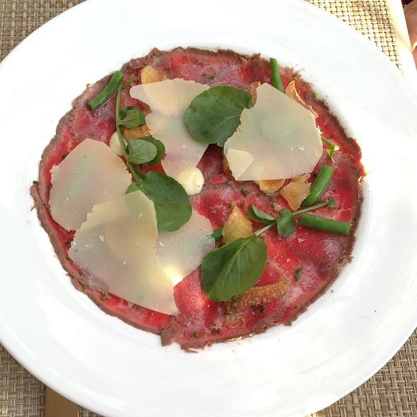 Wagyu Beef Carpaccio - El Dorado Kitchen, Sonoma, CA